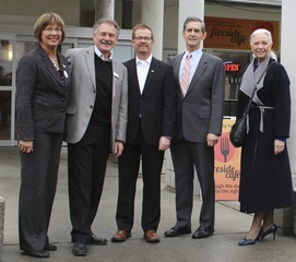 BC Minister Of Health, Dr. Terry Lake Visits Menno Place