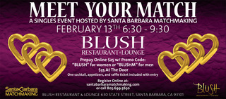 Meet Your Match At Blush Restaurant In Santa Barbara