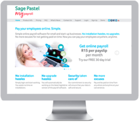 Sage Pastel My Payroll Online develops Online Payroll Software Solution for SARS Employment Tax Incentive Cl…