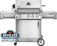 2010 Prestige Grills Line up is here from Napoleon Gourmet Grills
