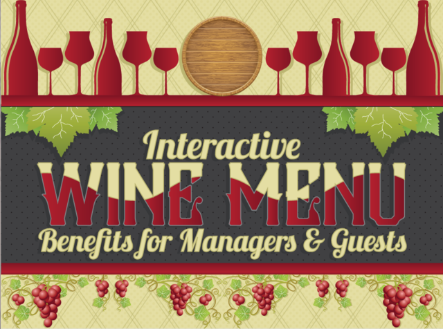 CorkGuru: Interactive Wine Menu App Infographic