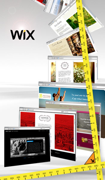 17 new flash website designs have just been added to the wix gallery