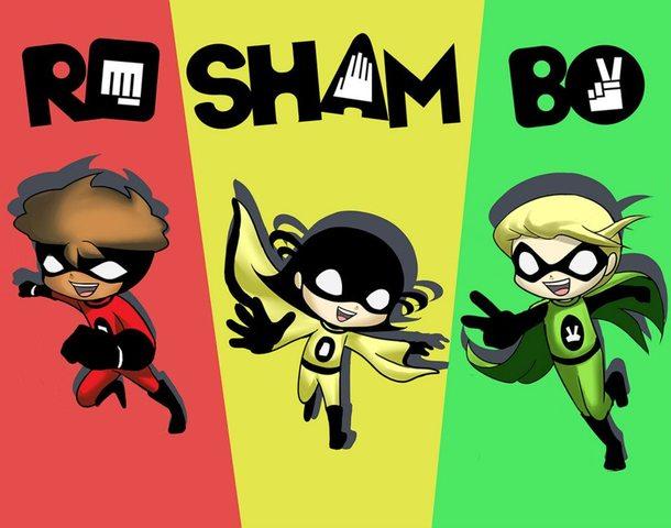 Roshambo Comic Characters