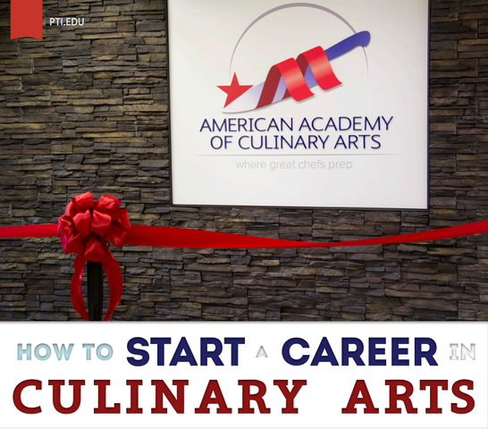 PTI/AACA White Paper: How to Start a Career in the Culinary Arts