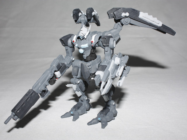 Paladin mech prototype