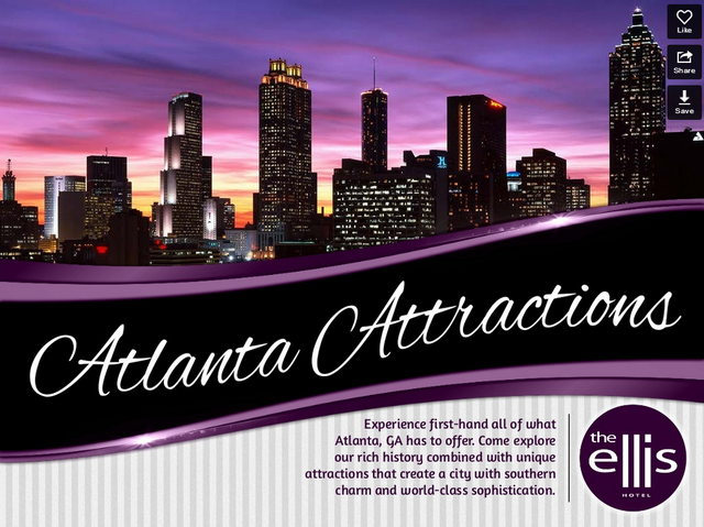 Ellis Hotel Slide Show: Downtown Atlanta Attractions