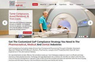 Xcellimark Helps GxP-CC Brand Their Online Image With A Website Redesign