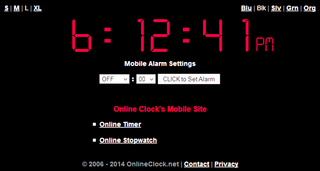 OnlineClock.net Celebrates 8th Anniversary With Mobile Site