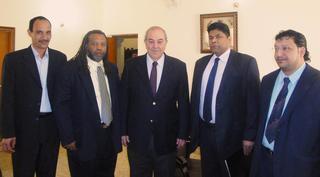 Iraqi Prime Minister Candidate, Dr. Iyad Allawi Taps SAK