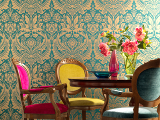 Home Wallpaper From The Runways To Your Walls Comes Graham