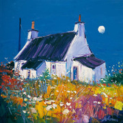 John Lowrie Morrison, Croft and Moon, Isle of Gigha.