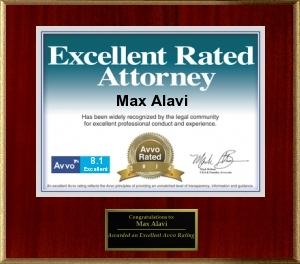 AVVO.com Excellent Rating