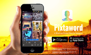 Pixtaword Word Game App Releases New Social Sharing Features