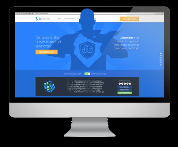 JScrambler, javascript protection homepage