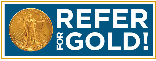"Lear Capital's ""Refer for Gold"""