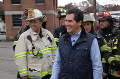 "Ernie Anastos photo from the ""Positively Ernie"" episode he was nominated for."