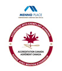 Menno Place: Accreditation with Exemplary Standing