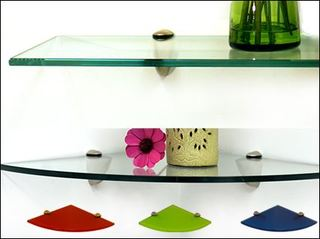 Fab Glass and Mirror Now Offering Colored Glass Shelving