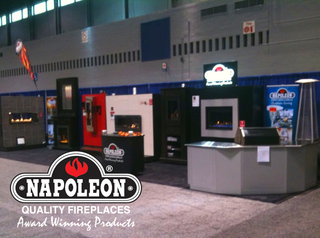 Napoleon Fireplaces at The Kitchen & Bath Industry Show - KBIS 2010