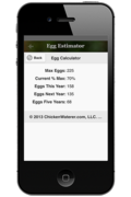Cluck-ulator Egg Estimator Screen Shot
