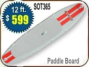 Saturn 12' SOT365 paddle SUP board