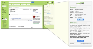 GreenRope's GMAIL Gadget is Now Live