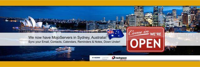 PostmanMojo to Australia.