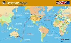 PostmanMojo Network Speed Map