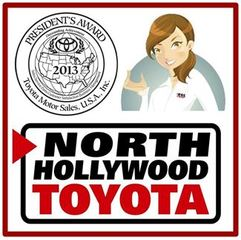 North Hollywood Toyota Won the Very Coveted President's Award for 2013 for Los Angeles Region