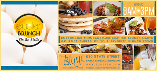 Blush Santa Barbara Restaurant Offers Gourmet Easter Brunch