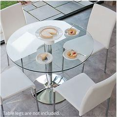 Glass Table Tops from Fab Glass and Mirror Setting New Trends in Furniture