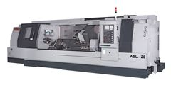 ASL-20 Heavy Duty CNC Slant Bed Lathe<br /> 20&quot; Chuck, 1,500 RPM, A2 - 20 Spindle