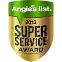 Treeium Earns Esteemed 2013 Angie's List Super Service Award