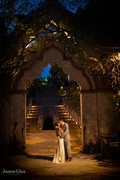 xcaret romantic twilight photo