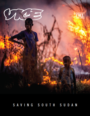 VICE Saving South Sudan Cover