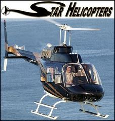 Star Helicopters Now Certified for Charter Flights