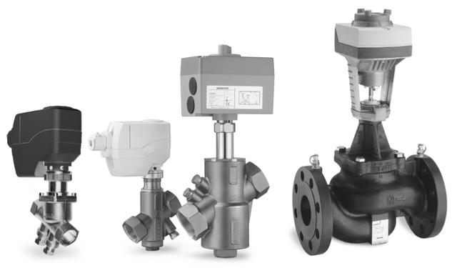 Siemens Actuators and Valve Assemblies by HVACbrain.com