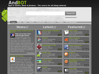 AndBOT Launches Online Android Marketplace Browser and Ethical App Review Website