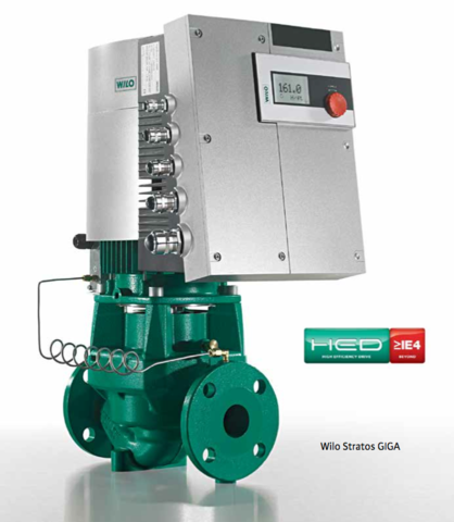 Wilo pumps from HVACbrain.com