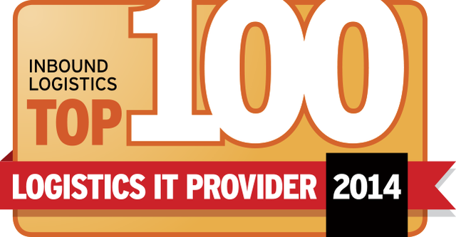 Inbound Logistics Top 100 IT Logistics Provider