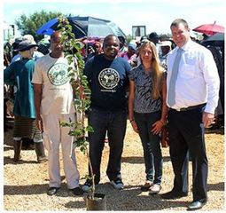 KMSA donates five hundred trees in honour of World Water Day