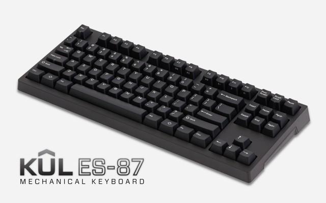 Keyed Up Labs ES-87 Tenkeyless Mechanical Keyboard