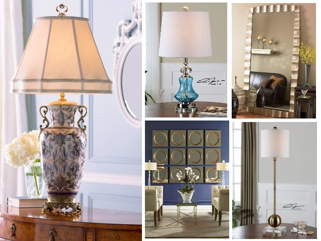 Express Yourself with Fine Home Table Lamps, Wall Mirrors, and Other Home Decor Accessories