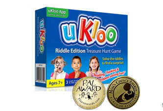 uKloo Riddle Edition Earns Top Awards