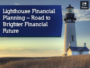 Lighthouse Financial Planning creates a slide show outlining their services