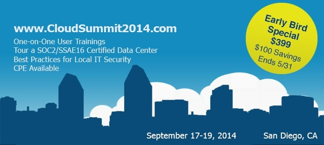 Cloud Summit 2014 is THE Event Not To Be Missed!