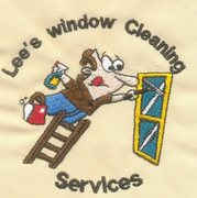 Window Cleaning Services - Embroidery example