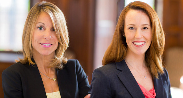 Personal Injury Attorneys Miriam Barish and Adrianne Webb of Anapol Schwartz