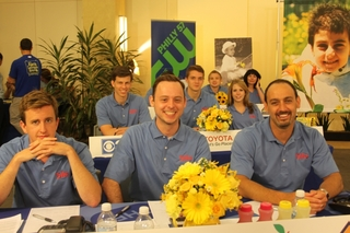 Sila Heating and Air Conditioning Employees Answer Phones for Alex's Lemonade Stand Foundation