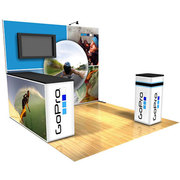 GoPro Panoramic Display with LCD screen